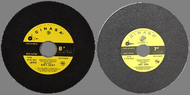 Discos de Corte para Metal en Máquina Portatil y Sierra Circular