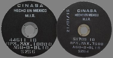 Discos de Corte Reforzados para Metalografia