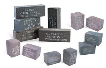 Blocks Vitrificados para Pulido de Pisos de Carburo de Silicio